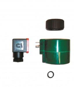 Coil of solenoid valve